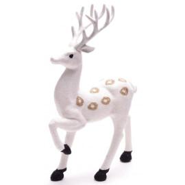 Декоративна фигура бял елен