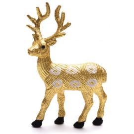 Декоративна фигура златен елен