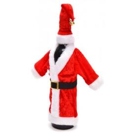 Коледна украса за бутилки