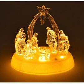 Светеща фигура - сцена от Рождество Христово