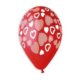 Балони с печат сърца