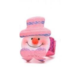 Коледна гривна - Снежен човек