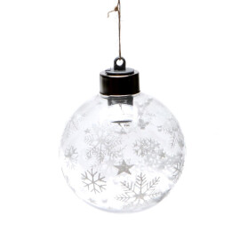 Коледна светеща топка