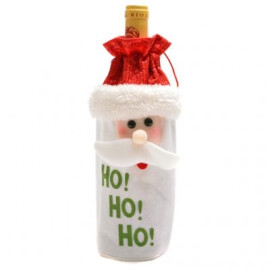 Торбичка за бутилка - Дядо Коледа