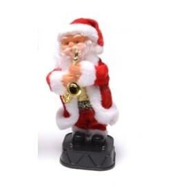 Музикален Дядо Коледа със саксофон