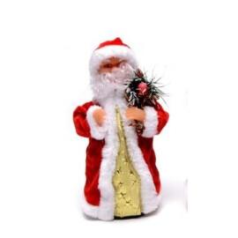 Музикален Дядо Коледа  с венче