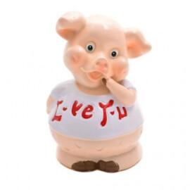 Касичка - прасенце Lo ve you