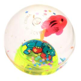 Светеща топка с рибка