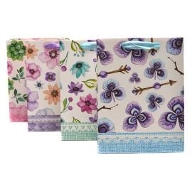 Подаръчна торбичка с цветя