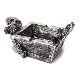 Пепелник - скелет и листо