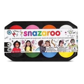 Професионален комплект бои за лице и тяло Snazaroo