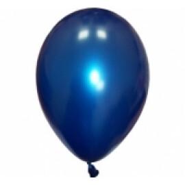Балони металик сини - 28см.