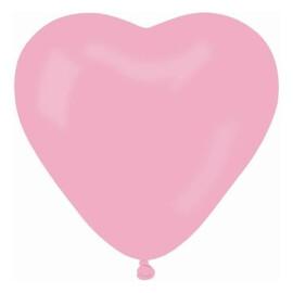 Балони сърце - розови