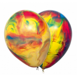 Парти балони мрамор
