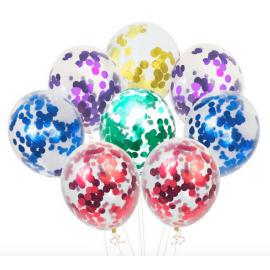 Балони с конфети микс