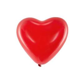 Балони сърце - червени
