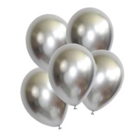 Балони хром - Shiny Silver