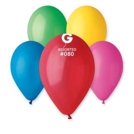 Балони 26 см. - асорти  #080 - G90