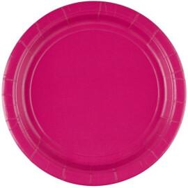 Едноцветни парти чинии - циклама