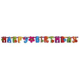 Гирлянд Happy Birthday