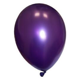 Балони металик лилави - 28см.