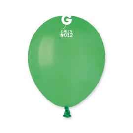 Балони 13 см.- зелени #012 - A50