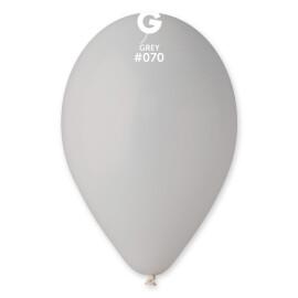 Балони 26 см. - сиви  #070 - G90