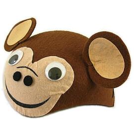 Карнавална шапка маймунка
