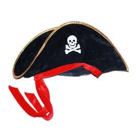Карнавална пиратска шапка капитан