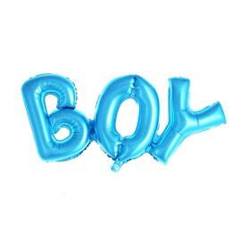 Фолиев балон букви за бебе - Boy