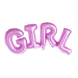 Фолиев балон букви за бебе - Girl