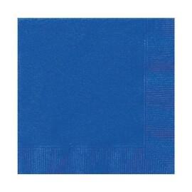 Едноцветни салфетки - сини