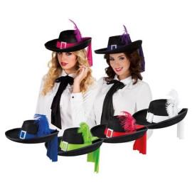 Мускетарска шапка с перо