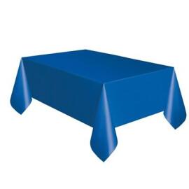 Едноцветна парти покривка - синя