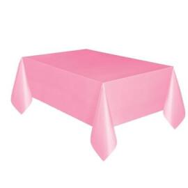 Едноцветна парти покривка - розова