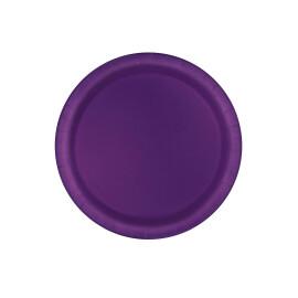 Едноцветни парти чинии - виолетови