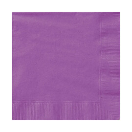 Едноцветни салфетки - лилави