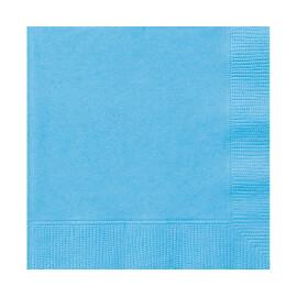 Едноцветни салфетки - светло сини