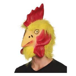 Маска на кокошка