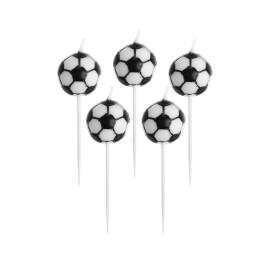 Парти свещи футболни топки