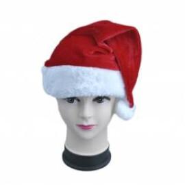Коледна шапка с помпон