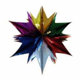 Коледна украса звезда