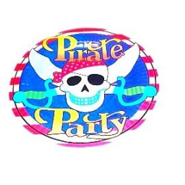 Парти чинии  Пират - 18см.