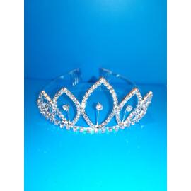 Луксозна корона с кристали № 2
