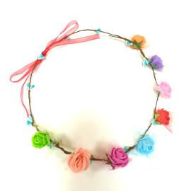 Венче с розички - разноцветни