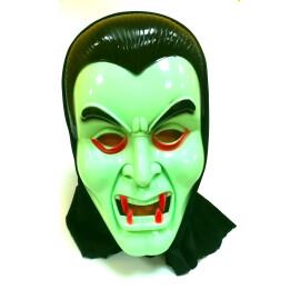 Маска вампир зелена