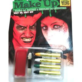 Комплект парти грим - Дявол
