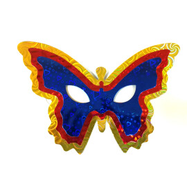 Маска домино - Тройна пеперуда