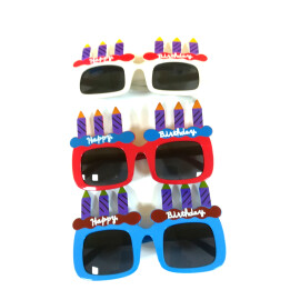 Парти очила Happy Birthday