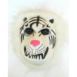 Маска бял лъв